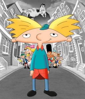 Hey Arnold Cartoon from Nicklodeon