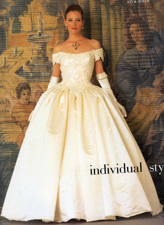 90s wedding dress styles